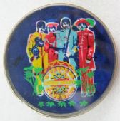 The Beatles - 'Sgt Peppers' Prismatic Crystal Badge